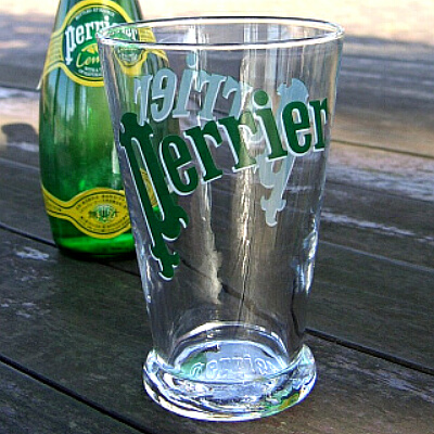 PERRIER グラス ペリエ
